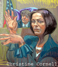Linda Schiro testifies in sketch by Chris Cornell